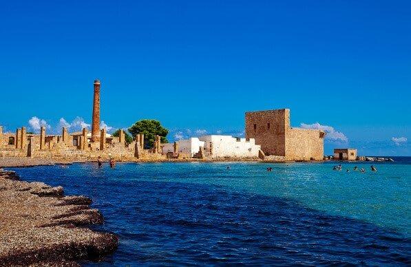 Tonnara, Sizilien